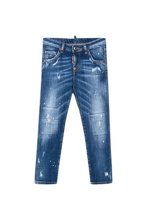 Jeans teen effetto vintage DSQUARED2 kids DSQUARED2 KIDS | 9 | DQ01PXD00YIDQ01T