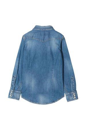 Camicia blu denim Dsquared2 kids DSQUARED2 KIDS | 5032334 | DQ02DGD00YJDQ01
