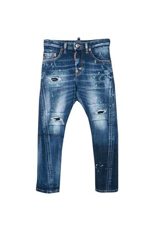 Blue teen jeans Dsquared2 kids DSQUARED2 KIDS | 9 | DQ02VDD00YGDQ01T