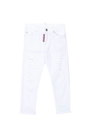 Jeans bianco Dsquared2 kids teen DSQUARED2 KIDS | 9 | DQ02VLD00Y4DQ100T