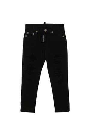 Black denim trousers Dsquared2 kids DSQUARED2 KIDS | 9 | DQ02VLD00Y4DQ900