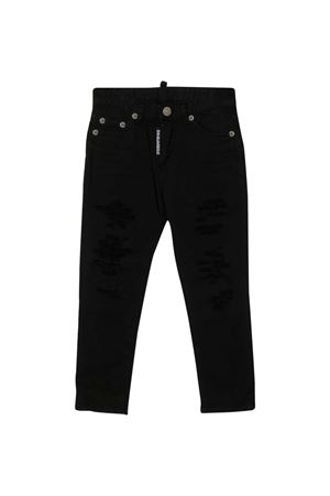 Black denim teen trousers Dsquared2 kids DSQUARED2 KIDS | 9 | DQ02VLD00Y4DQ900T