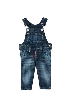 Blue denim jumpsuit Dsquared2 kids DSQUARED2 KIDS | 19 | DQ02XKD00YADQ01
