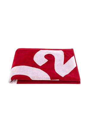 Red Dsquared2 kids beach towel  DSQUARED2 KIDS | 54 | DQ03F5D00UMDQ415