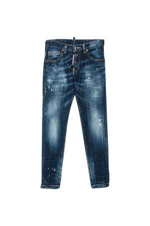 Skinny jeans effetto vissuto DSQUARED2 kids DSQUARED2 KIDS | 9 | DQ03LDD00YDDQ01