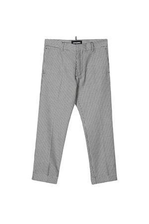 Dsquared2 kids printed trousers  DSQUARED2 KIDS | 9 | DQ03VID00WTDQC13