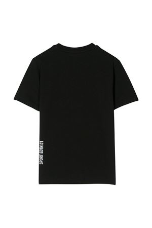 Black t-shirt with white press Dsquared2 kids DSQUARED2 KIDS | 8 | DQ03WDD00X4DQ90J