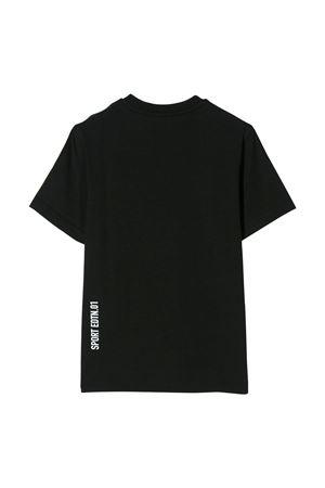 Black t-shirt with white press Dsquared2 kids DSQUARED2 KIDS | 8 | DQ03WDD00YLDQ90D