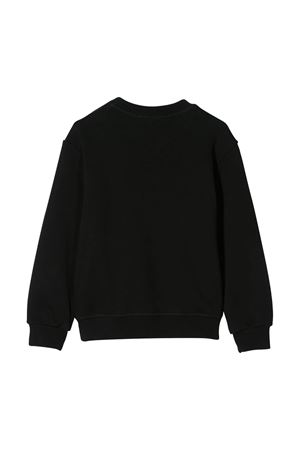 Black sweatshirt with white press Dsquared2 kids DSQUARED2 KIDS | -108764232 | DQ03WSD00RGDQ900