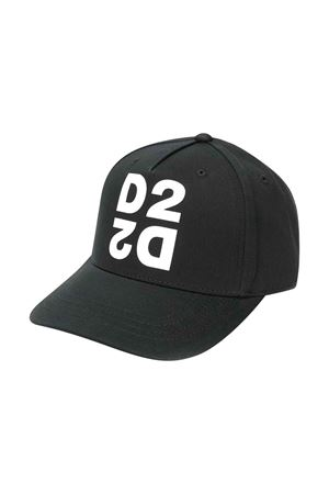 Black baseball hat DSQUARED2 kids DSQUARED2 KIDS | 75988881 | DQ03XED00I8DQ900