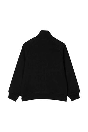 Black sweatshirt with frontal zip DSQUARED2 kids DSQUARED2 KIDS | -108764232 | DQ03Y9D00Y0DQ900