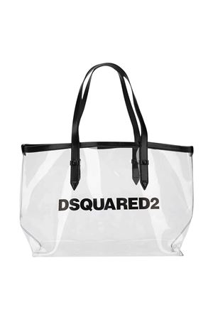 White and black tote bag DSQUARED2 kids DSQUARED2 KIDS | 31 | DQ03YRD00XWDQ002