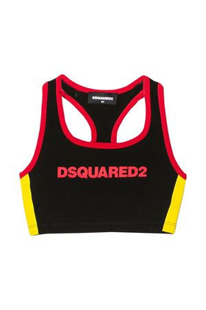 Canotta nera Dsquared2 kids DSQUARED2 KIDS | 8 | DQ03ZND00XNDQ900