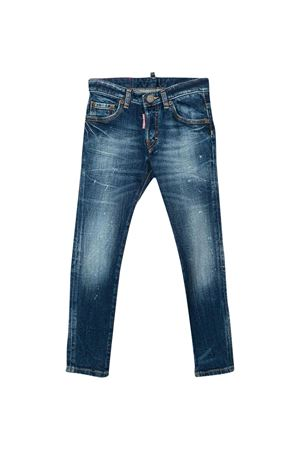 Skinny teen blue jeans Dsquared2 kids DSQUARED2 KIDS | 9 | DQ042LD00Z2DQ01T