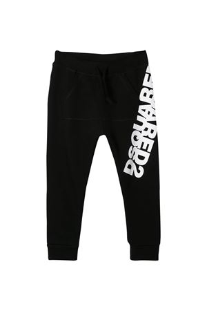 Black trousers Dsquared2 kids teen  DSQUARED2 KIDS | 9 | DQ0431D00RGDQ900T