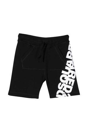 Black Dsquared2 kids shorts  DSQUARED2 KIDS | 30 | DQ0432D00RGDQ900