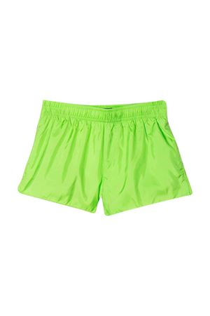 Green swimsuit with black logo DSQUARED2 kids DSQUARED2 KIDS | 85 | DQ0437D00QKDQ511