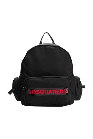 Black backpack Dsquared2 kids  DSQUARED2 KIDS | 31 | DQ0439D00PFDQ900