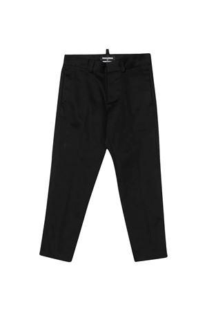 Black teen slim trousers DSQUARED2 kids DSQUARED2 KIDS   9   DQ043JD00XCDQ900T