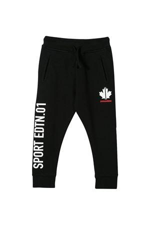Pantaloni neri Dsquared2 kids teen DSQUARED2 KIDS | 9 | DQ043ND00J7DQ900T