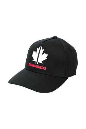 Cappello nero Dsquared2 kids DSQUARED2 KIDS | 75988881 | DQ043QD00I8DQ900