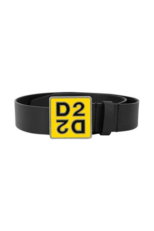 Calfskin belt with D2 logo DSQUARED2 kids DSQUARED2 KIDS | 22 | DQ045DD00XSDQ90K