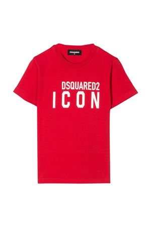 Red t-shirt Dsquared2 kids DSQUARED2 KIDS | 8 | DQ04EVD00W5DQ411