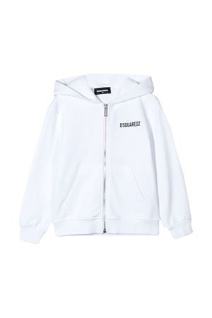 White sweatshirt Dsquared2 kids  DSQUARED2 KIDS | -108764232 | DQ04EYD00RGDQ100
