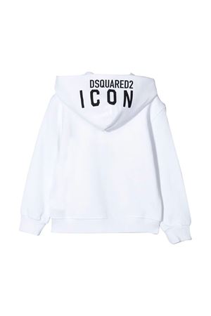 White sweatshirt Dsquared2 kids  DSQUARED2 KIDS | -108764232 | DQ04EYD00RGDQ100