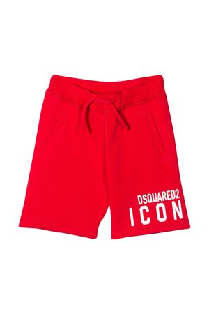 Red shorts Dsquared2 kids teen  DSQUARED2 KIDS | 30 | DQ04F0D00RGDQ411T