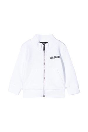 White sweatshirt Dsquared2 kids  DSQUARED2 KIDS | -108764232 | DQ04F2D00RGDQ100