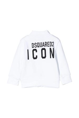 Felpa bianca Dsquared2 kids DSQUARED2 KIDS | -108764232 | DQ04F2D00RGDQ100