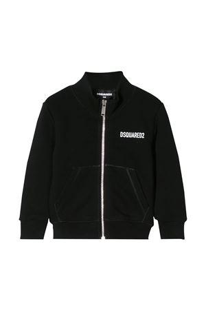 Black sweatshirt Dsquared2 kids  DSQUARED2 KIDS | -108764232 | DQ04F2D00RGDQ900