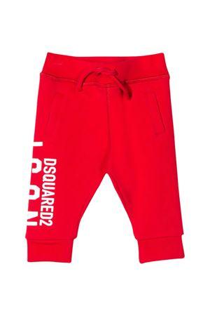 Pantaloni sportivi rossi Dsquared2 kids DSQUARED2 KIDS | 9 | DQ04F3D00RGDQ411