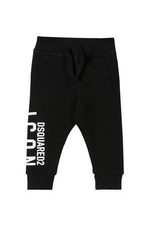 Pantaloni sportivi neri Dsquared2 kids DSQUARED2 KIDS | 9 | DQ04F3D00RGDQ900