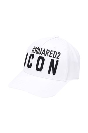 Cappello bianco Dsquared2 kids DSQUARED2 KIDS | 75988881 | DQ04F5D00I8DQ100