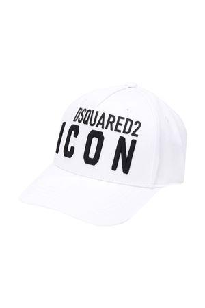White hat Dsquared2 kids  DSQUARED2 KIDS | 75988881 | DQ04F5D00I8DQ100