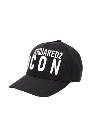 Cappello nero Dsquared2 kids DSQUARED2 KIDS | 75988881 | DQ04F5D00I8DQ900