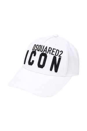 White hat Dsquared2 kids  DSQUARED2 KIDS | 75988881 | DQ04F6D00I8DQ100