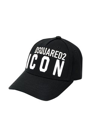 Cappello nero Dsquared2 kids DSQUARED2 KIDS | 75988881 | DQ04F6D00I8DQ900