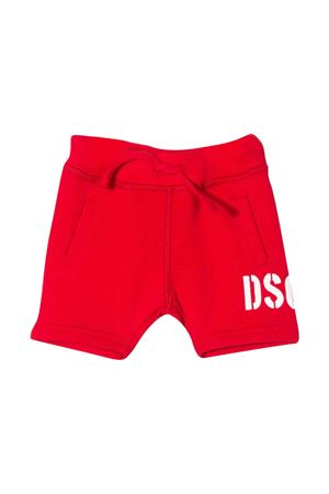 Red shorts with white logo DSQUARED2 kids DSQUARED2 KIDS | 30 | DQ04F9D00RGDQ411