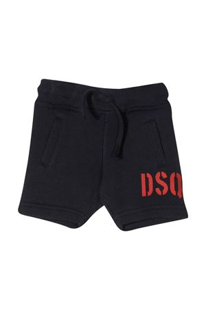 Blue shorts with red logo DSQUARED2 kids DSQUARED2 KIDS | 30 | DQ04F9D00RGDQ851