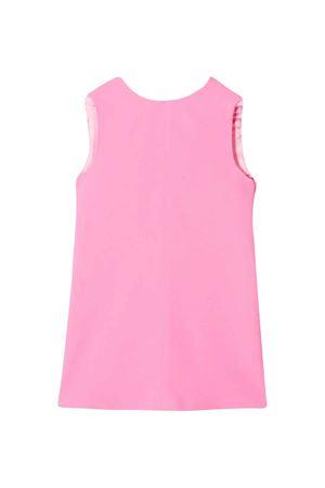 Pink teen dress with scallop Elisabetta Franchi La Mia Bambina ELISABETTA FRANCHI LA MIA BAMBINA | 11 | EFAB255GA37VE0220087T