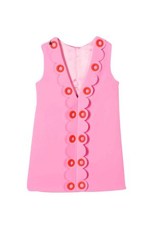 Pink dress with scallop Elisabetta Franchi La Mia Bambina ELISABETTA FRANCHI LA MIA BAMBINA | 11 | EFAB255GA37VE0220087