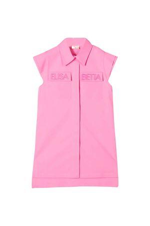 Pink teen sleeveless dress Elisabetta Franchi La Mia Bambina ELISABETTA FRANCHI LA MIA BAMBINA | 11 | EFAB262CE201VE0460168T