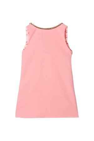 Pink flared dress with silver chain Elisabetta Franchi La Mia Bambina ELISABETTA FRANCHI LA MIA BAMBINA | 11 | EFAB271GA37VEUNI0233