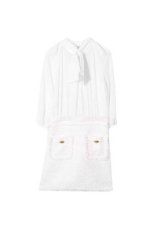 White dress Elisabetta Franchi La mia bambina ELISABETTA FRANCHI LA MIA BAMBINA | 11 | EFAB272TV580VEUNI0020