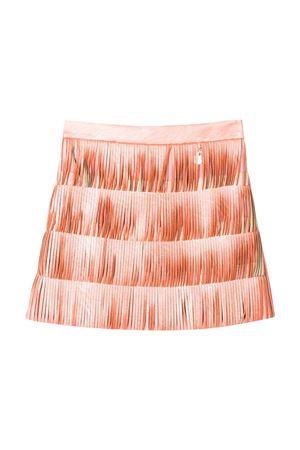 Pink teen fringed skirt Elisabetta Franchi La Mia Bambina ELISABETTA FRANCHI LA MIA BAMBINA | 5032322 | EFGO75PE47VE0200076T