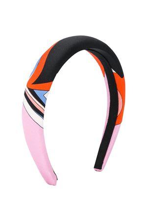 Multicolor hairband Emilio Pucci Junior EMILIO PUCCI JUNIOR | -550735340 | 9M0014MD780415CE