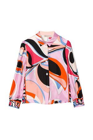 Camicia con stampa multicolor Emilio Pucci Junior EMILIO PUCCI JUNIOR   5032334   9M5000MD780415CE